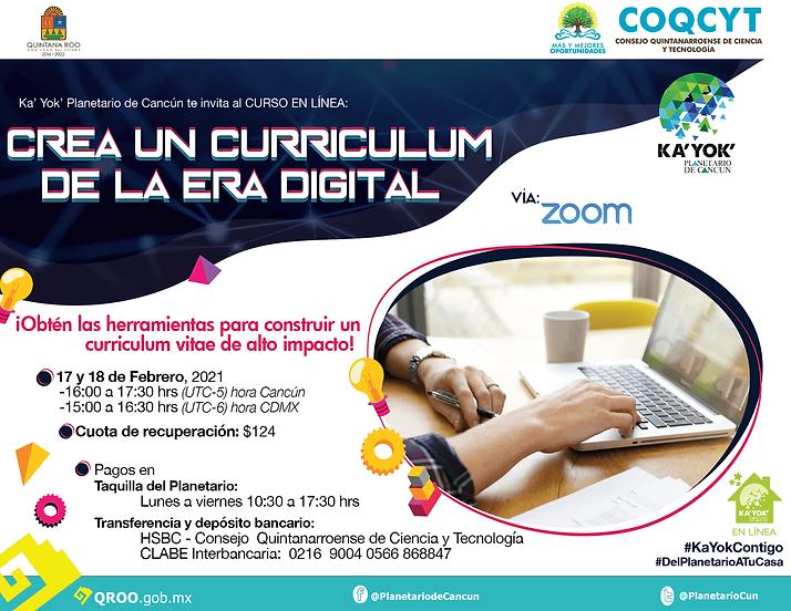 Curso CV Era Digital Kayok 17-18Feb 2021