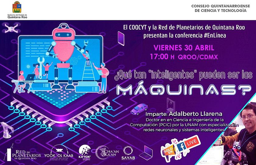 MÁQUINAS Inteligentes 30Abril2021 RPQR S