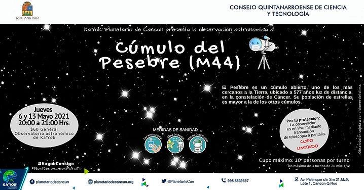 Cúmulo del Pesebre M44 6 y13 Mayo 2021.j