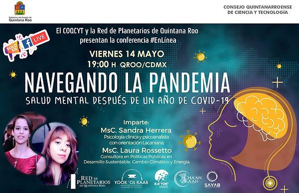 Navegando la pandemia Salud mental 14May