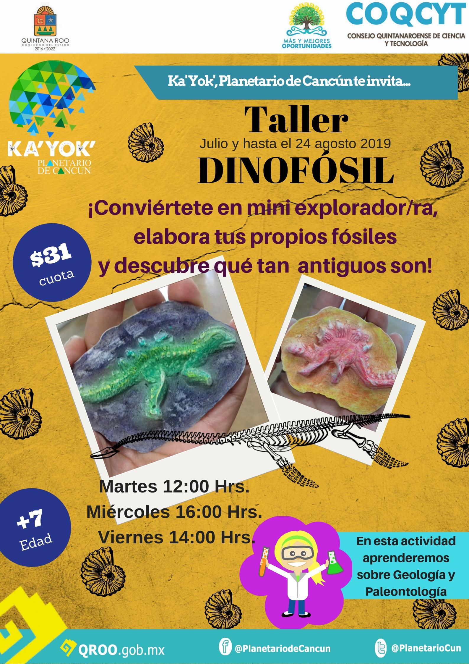 Taller: Dinofósil