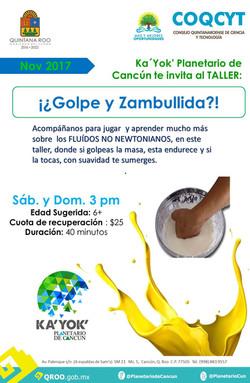 GOLPE Y ZAMBULLIDA