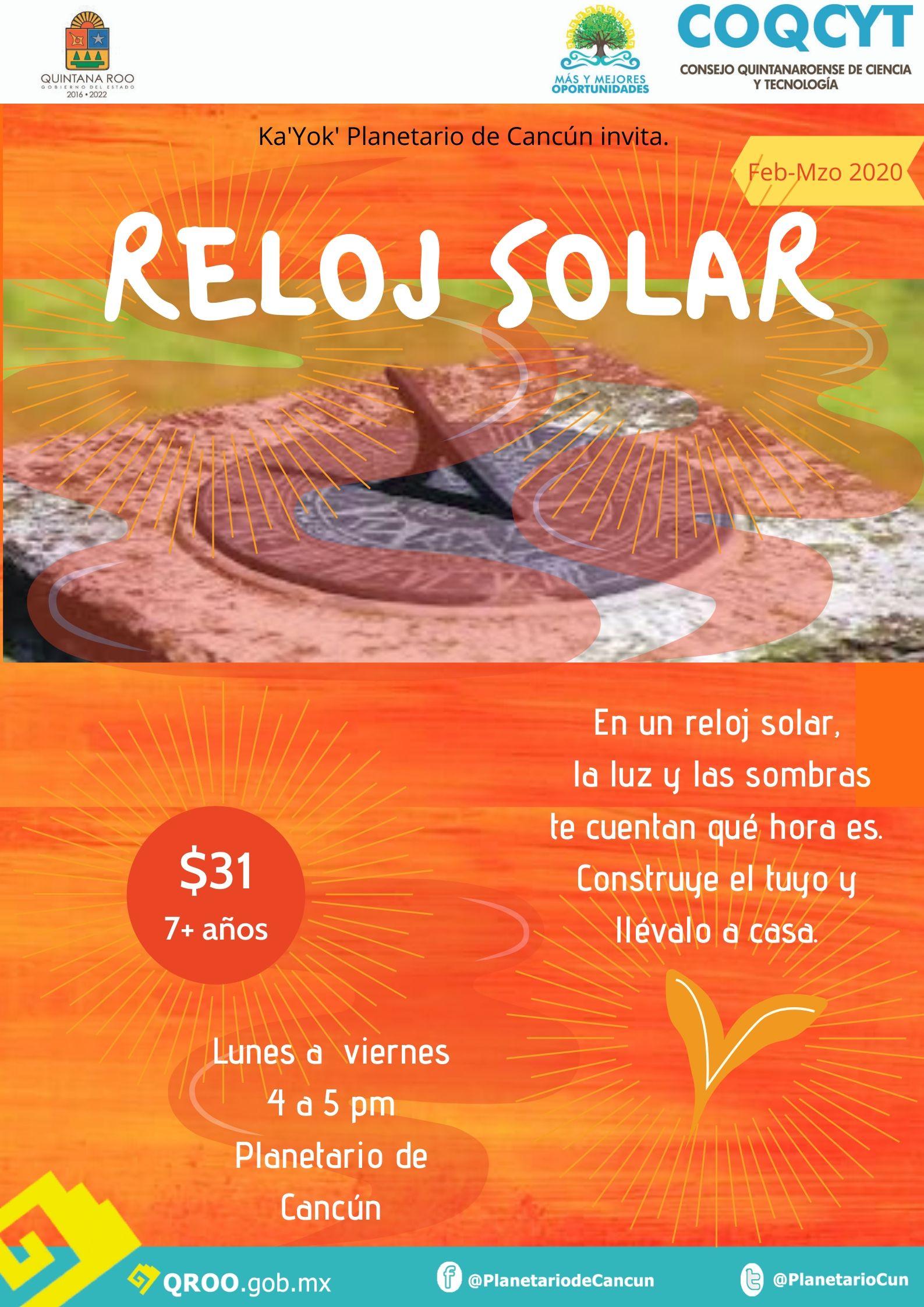 Reloj Solar Feb 2020