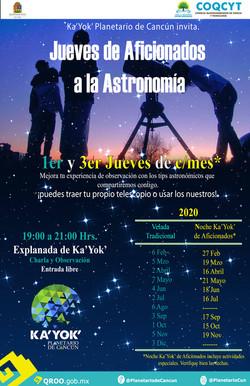 Aficionados a la Astronomía 2020