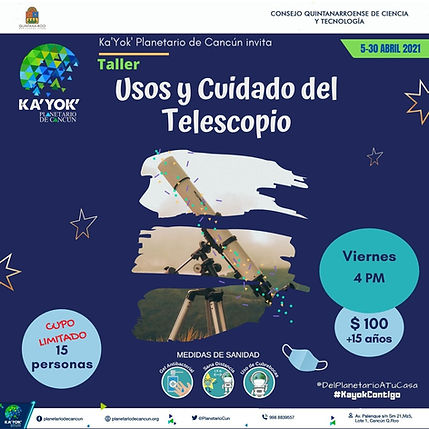 Telescopios Usos y Cuidados Abril2021.jp