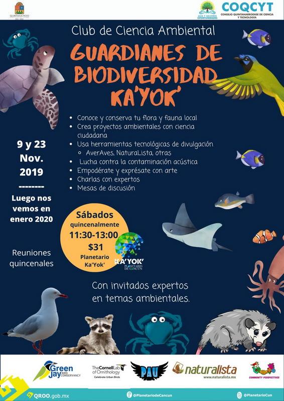 Guardianes de Biodiversidad Ka'Yok'