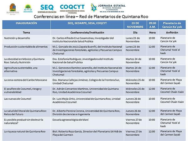 JECTyH Programa Conferencias 23-27Nov202