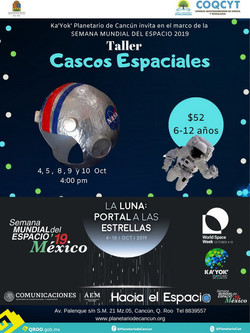 Taller: Cascos Espaciales (SME2019)