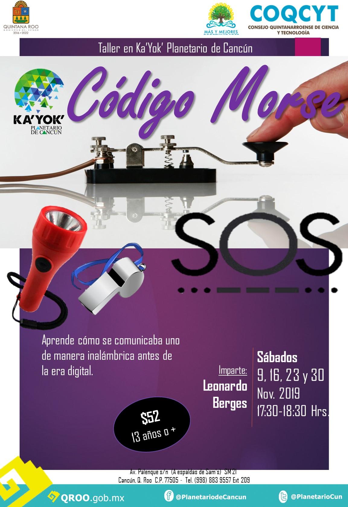 Código Morse (Nov 2019)