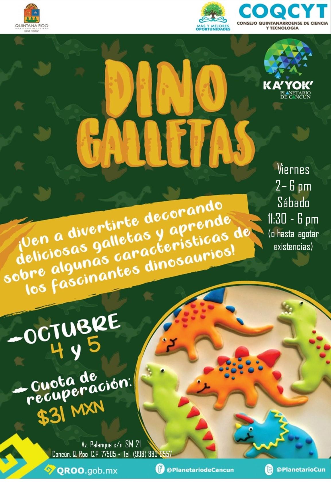 Dino Galletas KaYok 4 y 5 Oct