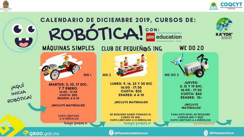 Clases de Robótica  (Dic 2019)