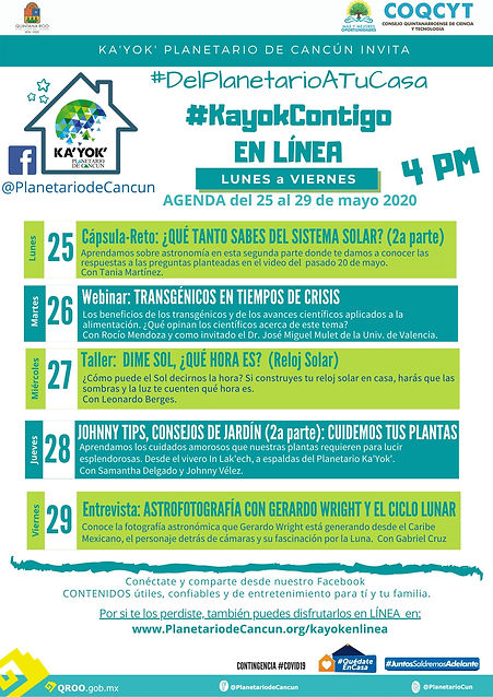 KaYokContigo AGENDA 25-29 Mayo 2020.jpg