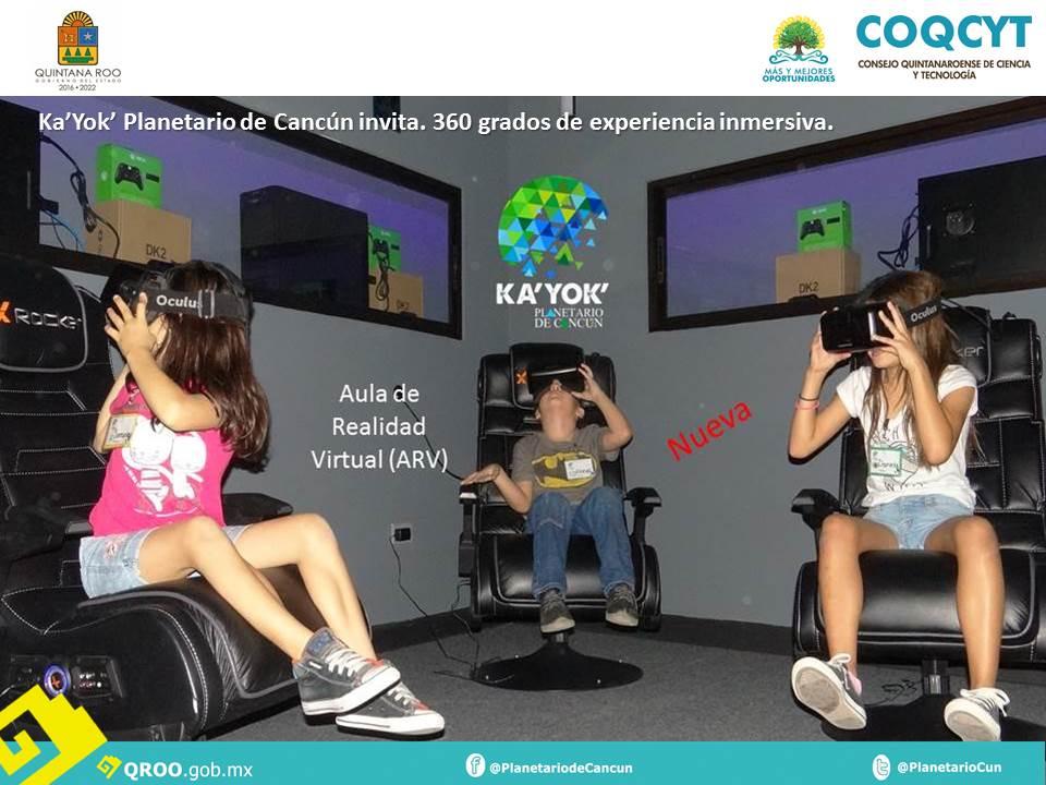 Aula de Realidad Virtual