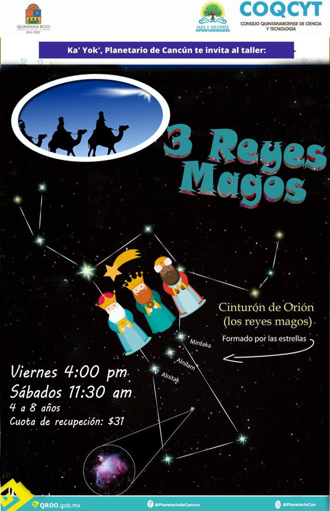 3 Reyes Magos (Taller)
