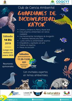 Guardianes de la Biodiversidad 14Dic2019