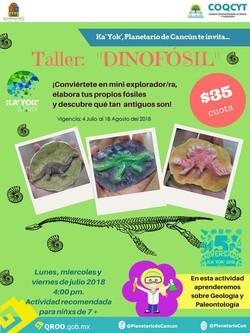 Taller: Dinofosil Verano 2018