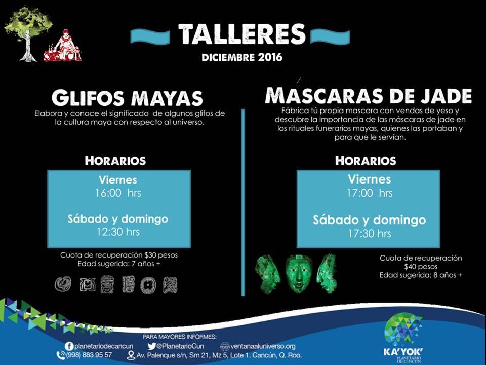 Talleres Dic 2016