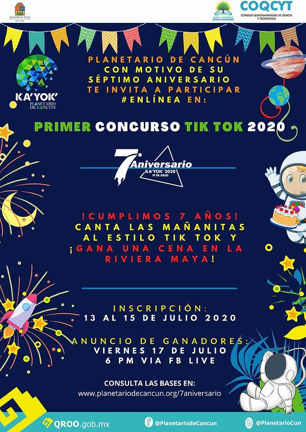 Concurso TikTok Kayok 7Aniv 2020 (Promo)