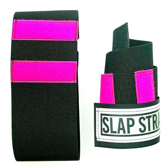SLAPSTRAP® Wrist Wraps Neon Pink