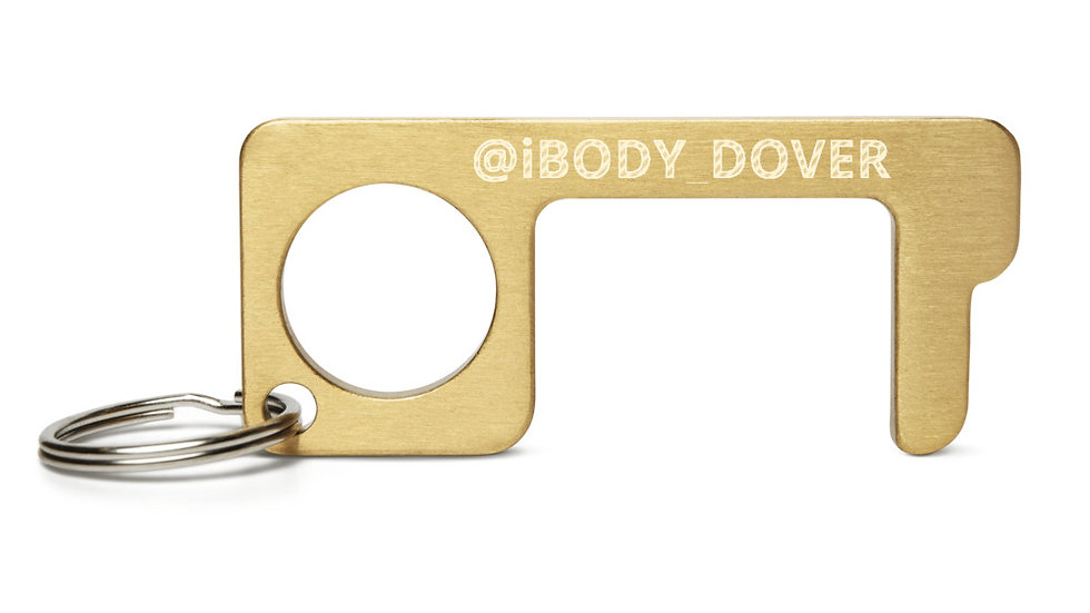 Engraved Brass Touch Tool