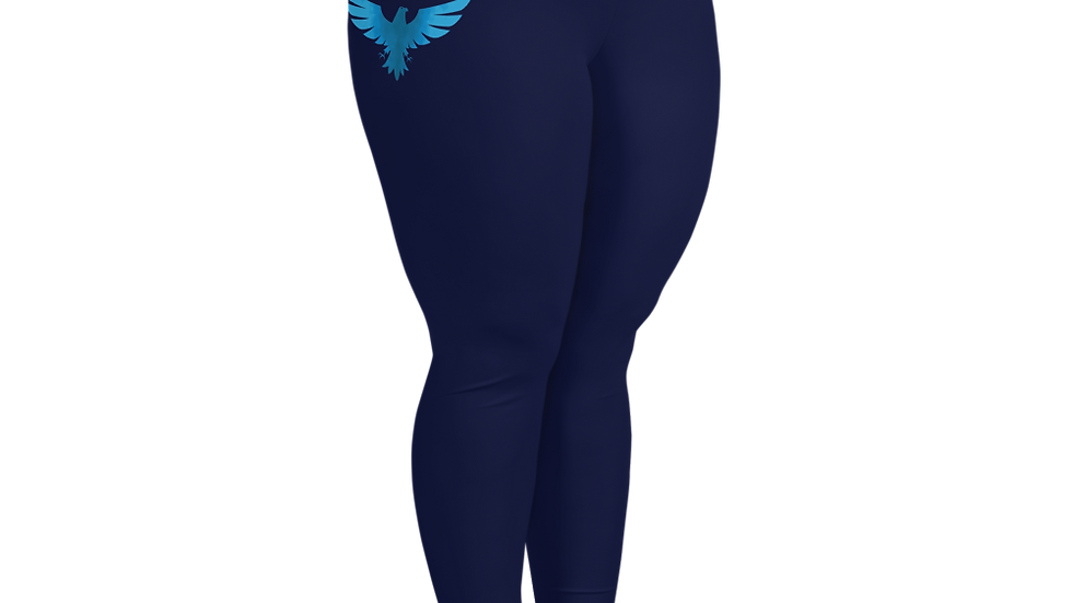 Women's All Day Comfort Pacific Supply Navy Plus Size Leggings