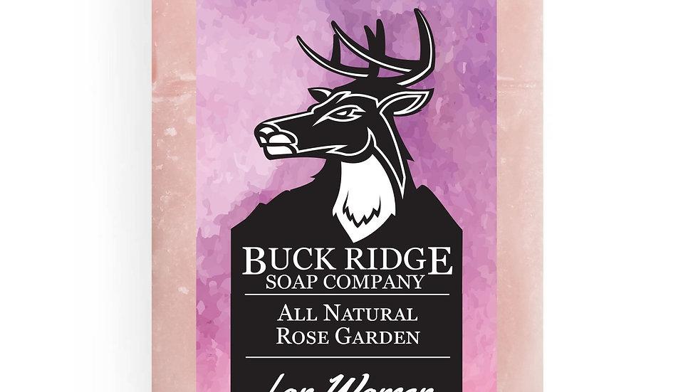 All Natural Rose Garden Handmade Soap