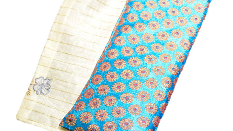 OMSutra's Stress Relief and Self-Care Silk Eye Pillow for Healing