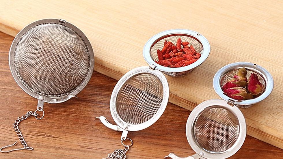 3 Sizes Stainless Steel Tea Infuser Sphere  Tea Ball  Filter  Kitchen Tools