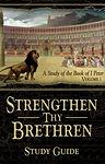 Strengthen Thy Brethren, Volume 1, Cover