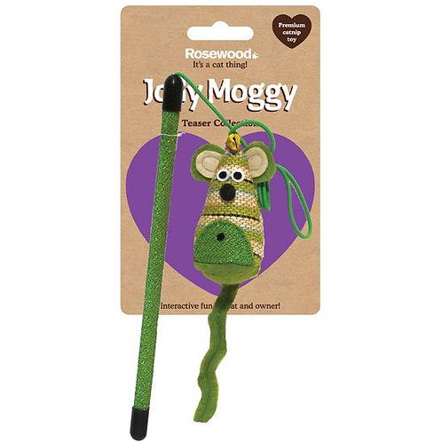 英国Rosewood Jolly Moggy老鼠先生逗猫棒