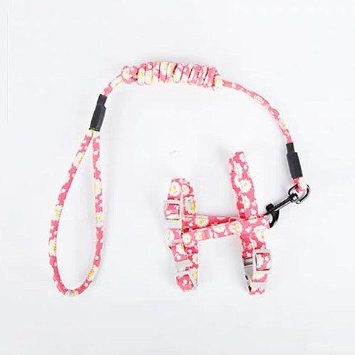 日式和风牵引绳 - 粉色樱桃