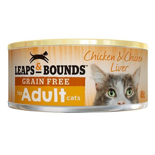 Leaps & Bounds 85g - 无谷鸡和内脏