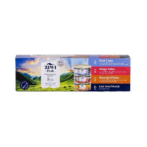 Ziwi Provenance无谷猫罐头Multipack 6x85g
