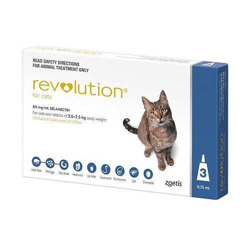 Revolution外驱虫药2.6 - 7.5kg