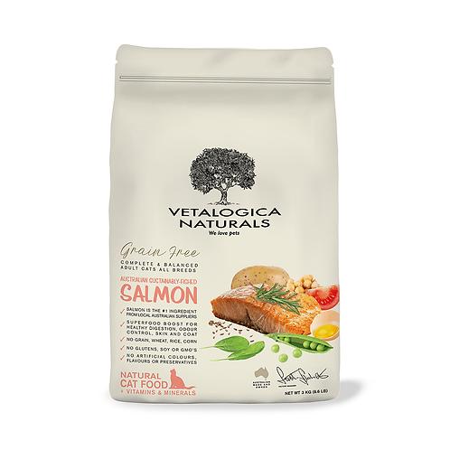 澳维康Vetalogica营养保健天然猫粮3kg - 三文鱼