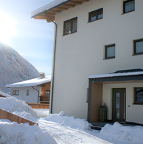 Privater Eingang Winter