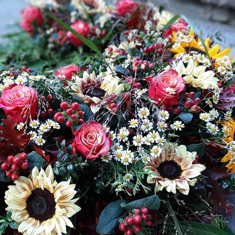 Trauerkranz Sonnenblumen