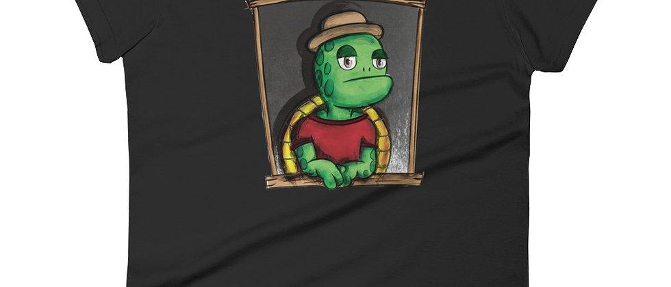 Lazy Turtle (Women's short sleeve t-shirt)