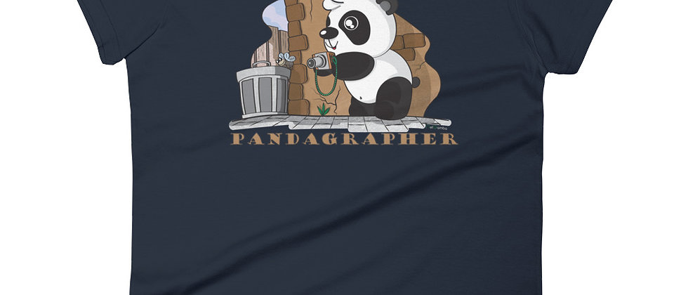 Pandagrapher (Women's short sleeve t-shirt)