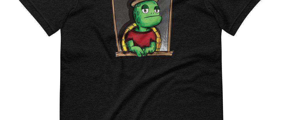 Lazy Turtle (Men's Short-Sleeve T-Shirt)