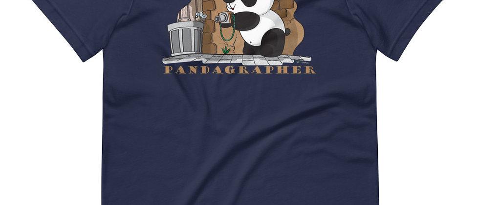 Pandagrapher (Men's Short-Sleeve T-Shirt)