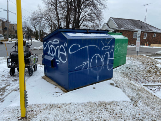 Dumpsters - Before