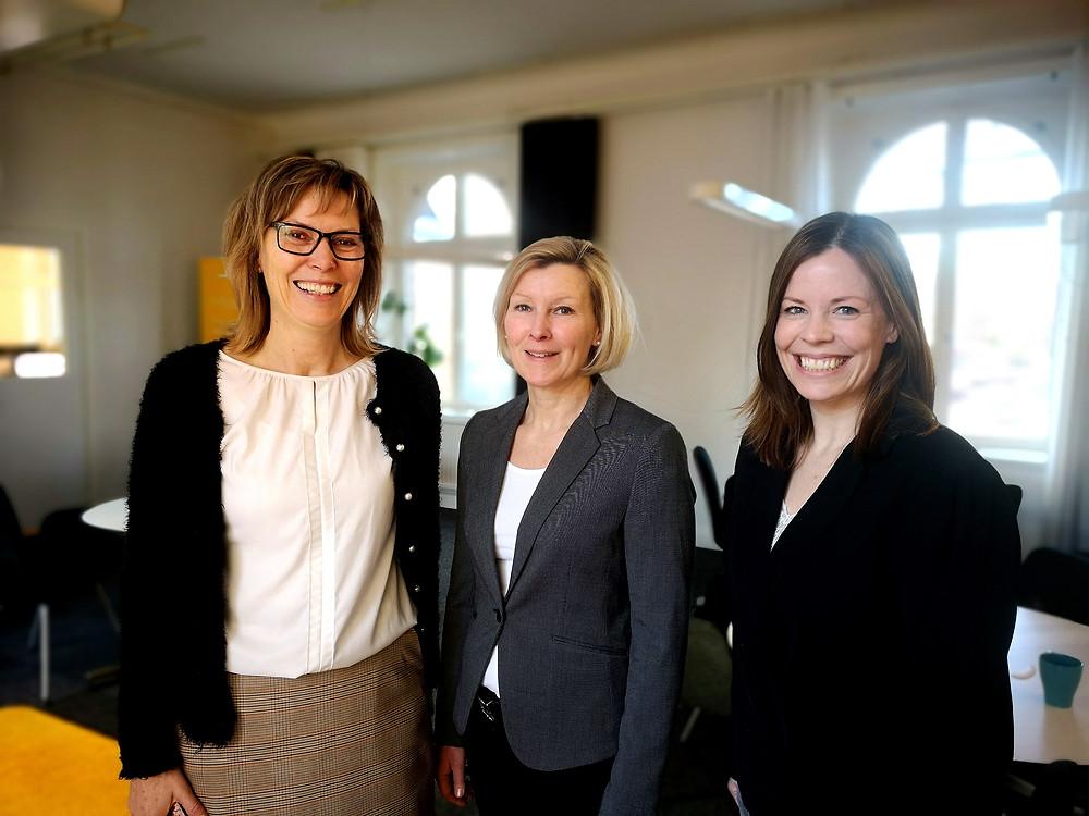 Jolivs VD Katarina Pihl (vänster)