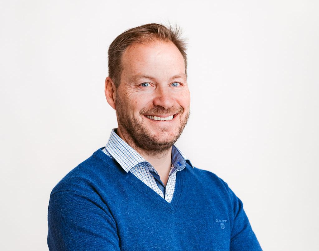 Christian Strömblad, grundare och affärsutvecklare på Joliv