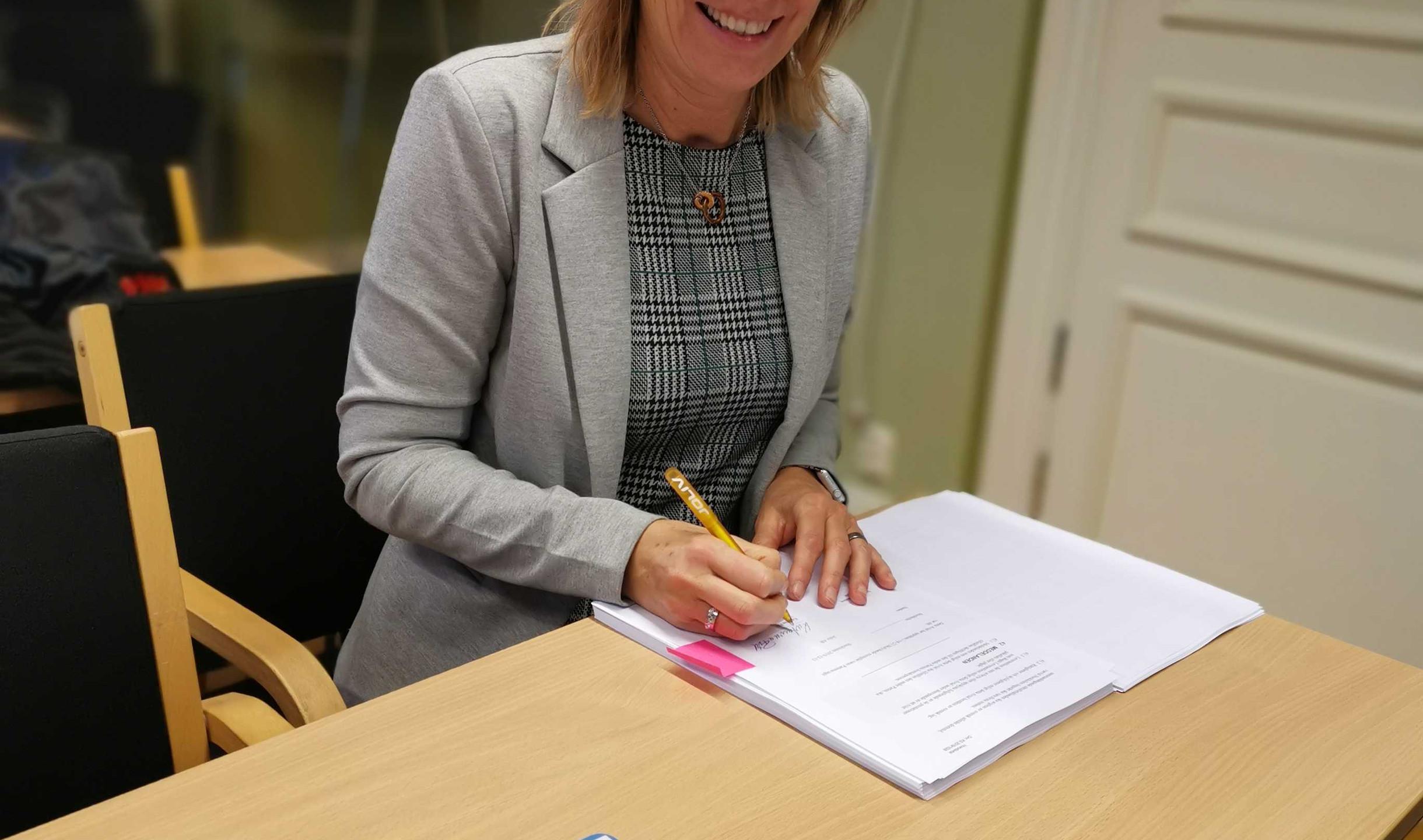 Katarina Pihl, VD på Joliv