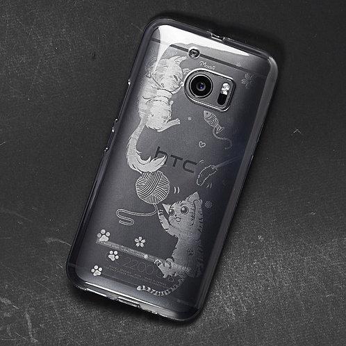 卡力與黛咪-防撞保護殼 HTC