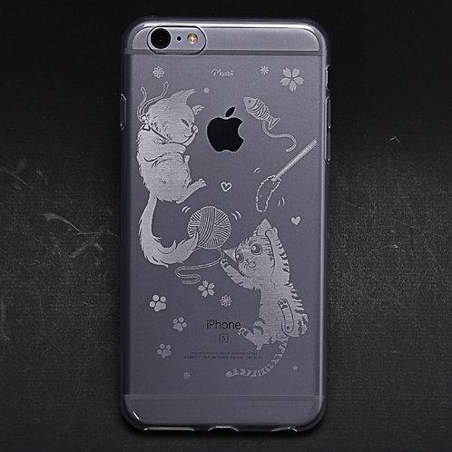 卡力與黛咪-防撞保護殼 (iPhone)