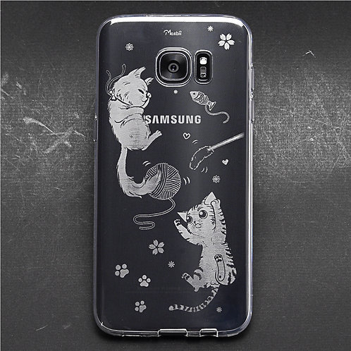 卡力與黛咪-防撞保護殼 (Samsung)
