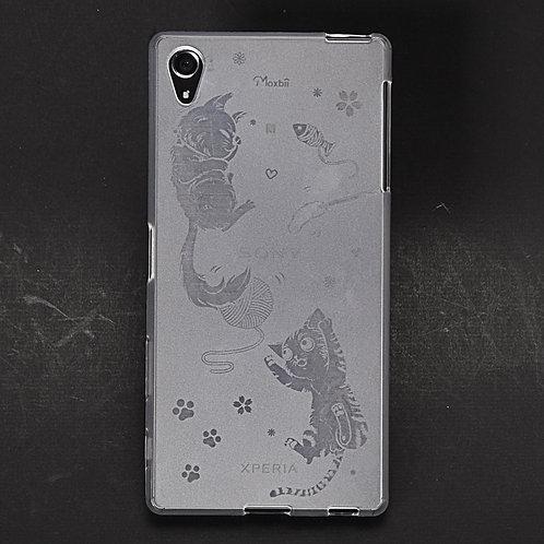 卡力與黛咪 -防撞保護殼 (Sony Xperia)