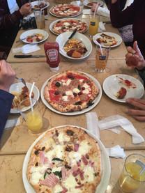 ナポリのピザを食べる会